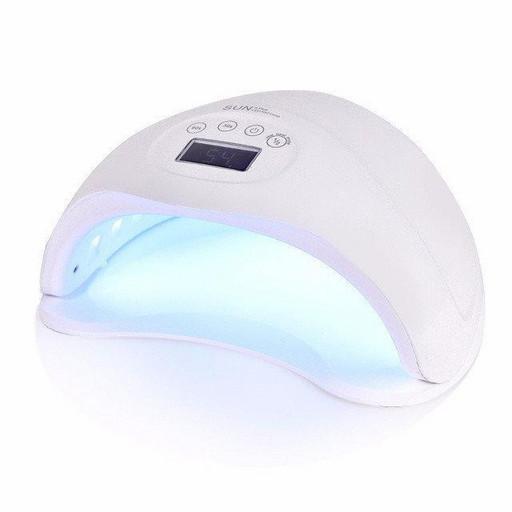 Профессиональная LED-лампа, Лампа для сушки гель лака UV Lamp SUN 5, Сенсорная лампа светодиодная