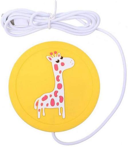 Подставка под чашку с подогревом USB - жираф|ОРИГИНАЛ