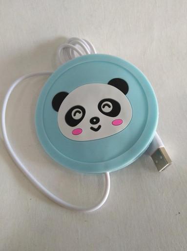 Подставка под чашку с подогревом Панда