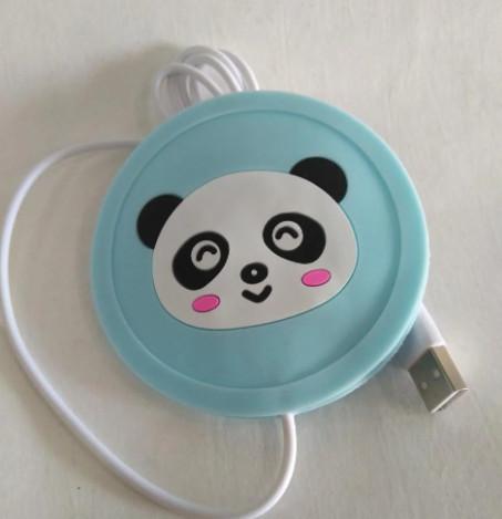 Подставка под чашку с подогревом от USB Панда