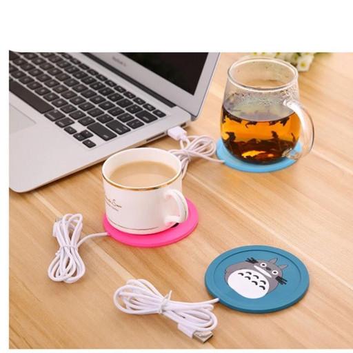 Подставка под чашку с подогревом USB - пандочка
