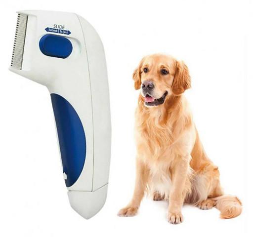 Расчески для животных   Электрическая расческа от блох для собак и котов Flea Doctor