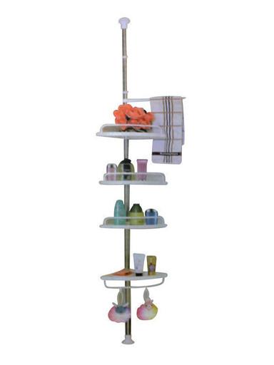 Угловая полка для ванной комнаты Aidesen ADS-188 Multi Corner Shelf, металлическая полочка |