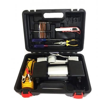 Автомобильный компрессор DA-8822 (с набором инструментов) | автокомпрессор