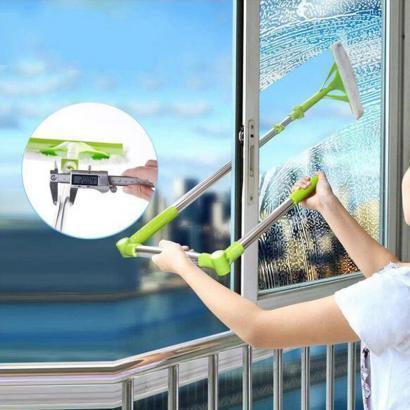 Швабра для мытья окон с длинной ручкой High-rise Cleaning Glass Mop