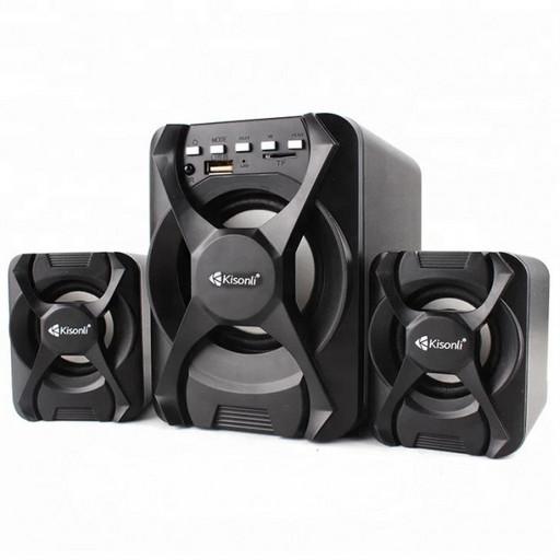 Компьютерные колонки Kisonli U-2500 BT Desktop Speaker 2.1 USB