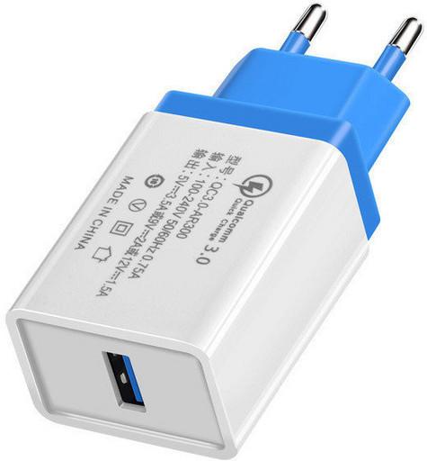 Сетевое зарядное устройство (адаптер, зарядка) UKC 5216 Fast Charge QC 3.0 AR 60 (4311)