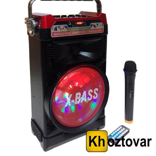 Портативная Bluetooth колонка NS-1388BT NNS с радиомикрофоном