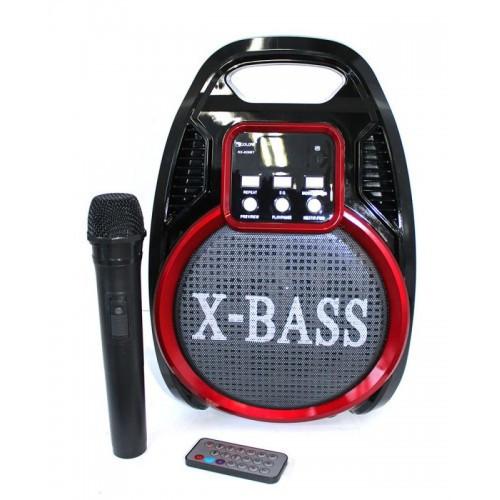 Акустическая портативная колонка комбик Golon RX-820 BT (1 радио микрофон, USB, FM)