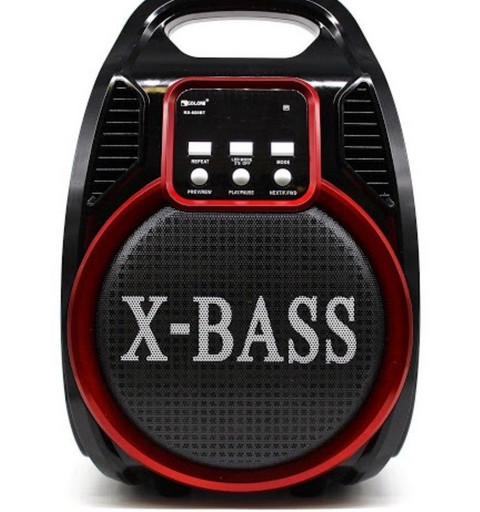 Переносная Колонка Bluetooth X-BASS Golon RX-820-BT LED, пульт + радиомикрофон