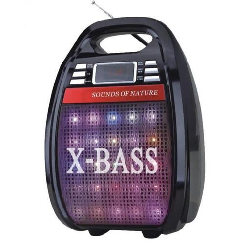 Акустическая система GOLON RX-810 BT, Колонка Bluetooth + MP3, радиомикрофон, пульт, cветомузыка ,радио.