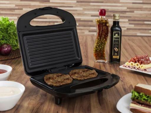Сендвичница Бутербродница гриль Domotec MS 7709 с антипригарным покрытием