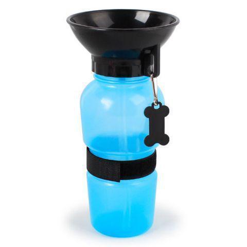 Бутылка питьевой воды PET BOTTLE Голубой