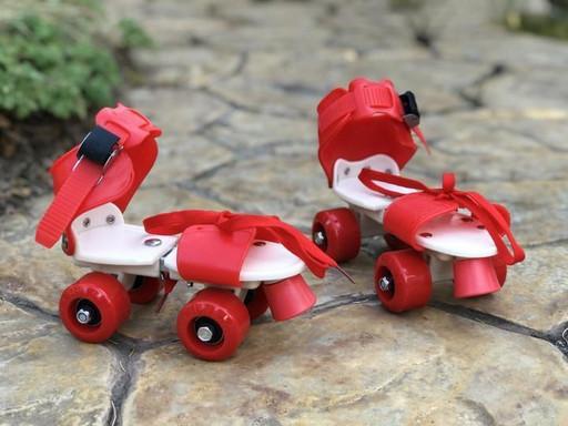 Ролики Квады раздвижные Scooter 4009B New Version 2020