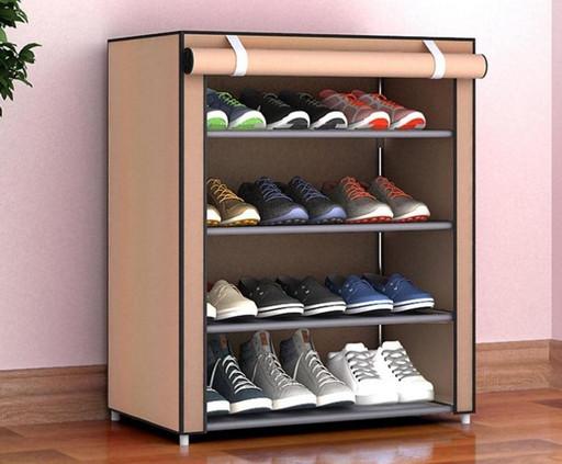 Тканинний шафа для взуття