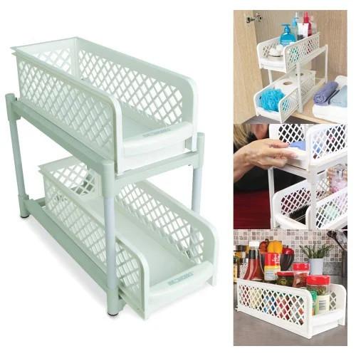 Органайзер Portable (2шт) Basket Drawers Original Ящики, полка для ванной, кухни