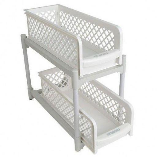 Органайзер для ванной на 2 полки Portable (2шт) Basket Drawers Original Ящики, полка для ванной, кухни