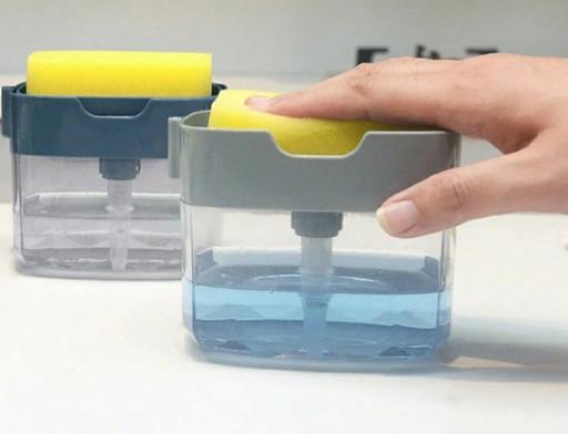 Диспенсер дозатор для миючого засобу Sponge Caddy
