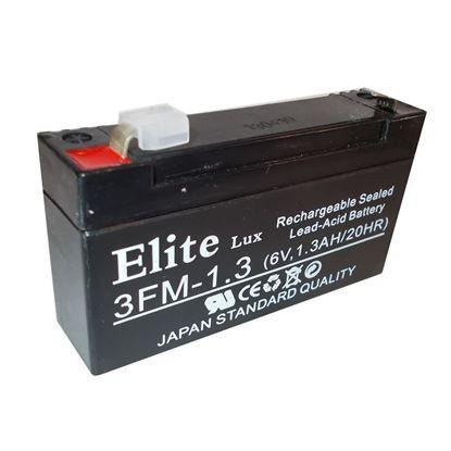 Батарея AK ELITE LUX 6 V 1,3 AH