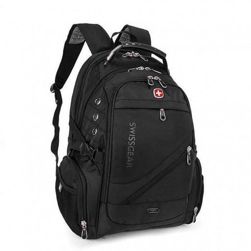 Рюкзак Wenger SwissGear 8810 з USB та AUX Чорний