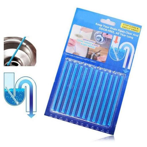 Палочки для устранения засоров в трубах Sani Sticks 12 шт R0179, КОД: 1486513