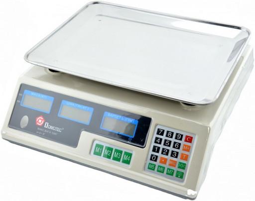 Весы Staropera на 40 кг., электронные торговые с калькулятором, настольные