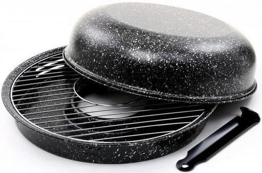 Сковорода Гриль-Газ d 33 см мраморное покрытие (psg_GG-BN-803)
