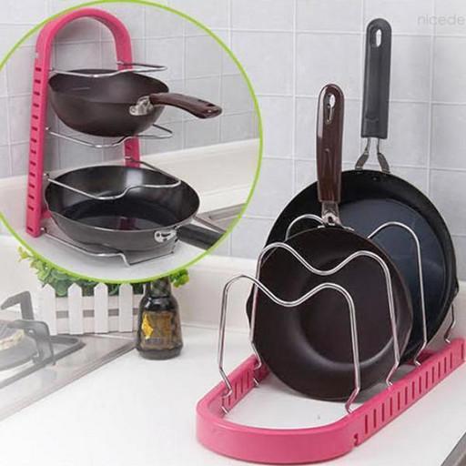 Стойка для сковородок Frying pan rack COLOR