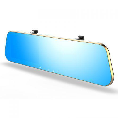 Зеркало заднего вида с видеорегистратором DVR DV460 с двумя камерами Gold