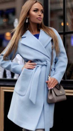"""Кашемировое демисесонное пальто """" Агнес """" на подкладке"""