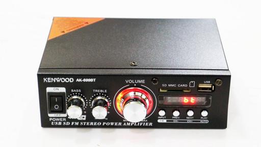 Усилитель звука Kenwood AK-699BT FM USB 2x150W Блютуз