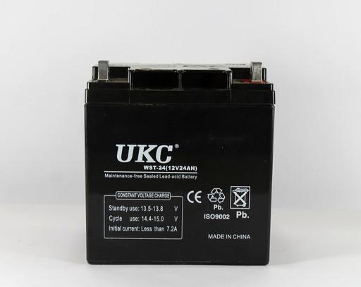 Аккумулятор BATTERY UKC 12V 24A