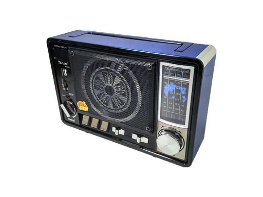 Радио портативная колонка MP3 Golon RX-951 Blue