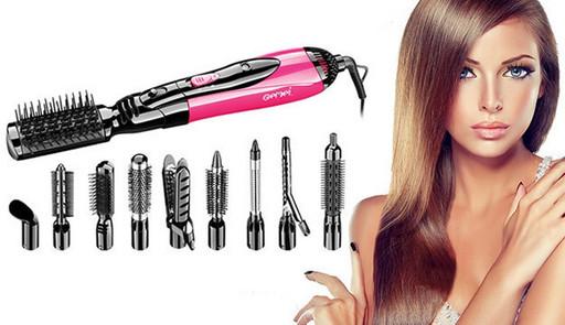 Воздушный стайлер для волос 10в1 Gemei GM 4835 Новинка!