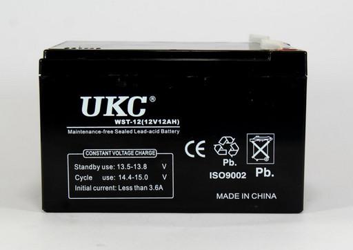 Аккумулятор BATTERY 12V 12A UKC, аккумуляторная батарея 12в, герметичный кислотно-свинцовый аккумулятор