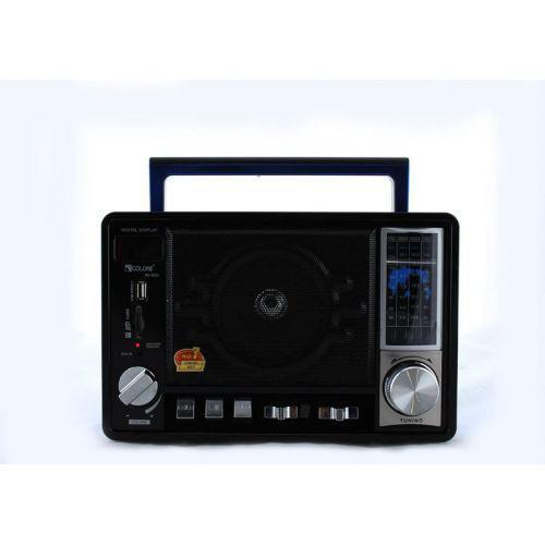 Радио портативная колонка MP3 Golon RX-950 Blue