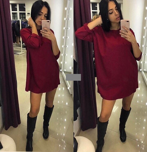 """Платье туника свободное """" Раделия """" (ТИАР, супер качество )"""