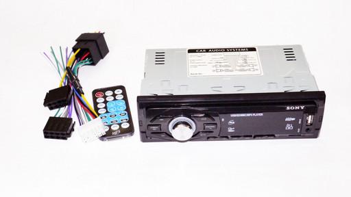 Бюджетная автомагнитола Sony 8226BT ISO Bluetooth, MP3, FM, USB Высокое качество Купить онлайн Код: КДН4109