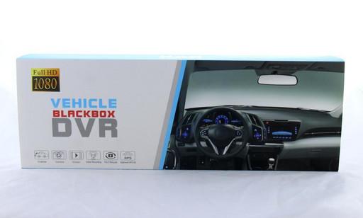 DVR T605 HD зеркало с двумя камерами BlackBox 1080p сенсорный екран