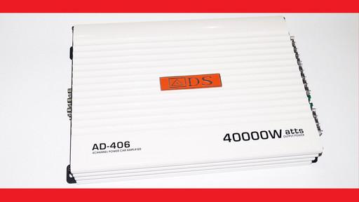 Автомобильный усилитель звука ADS AD-406 4000Вт 4-х канальный
