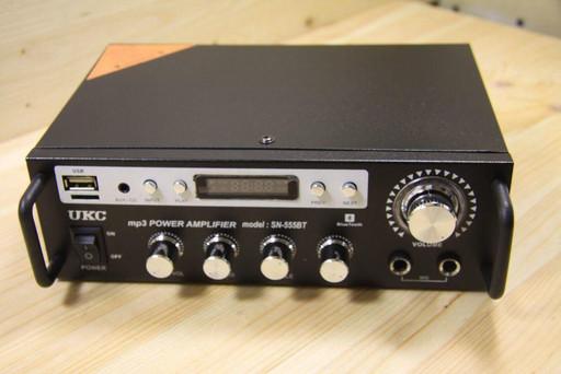 Усилитель звука c bluetooth AMP SN 555 BT!Розница и Опт