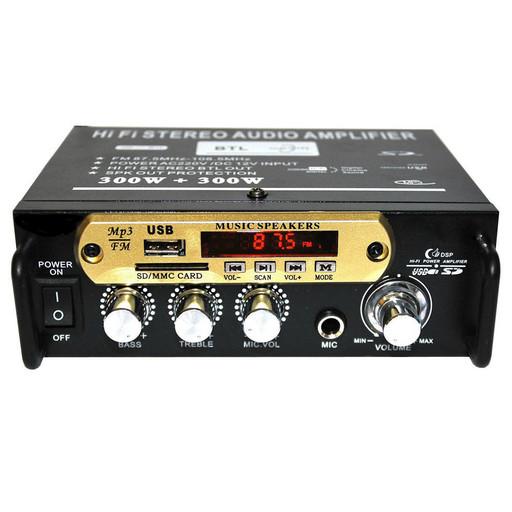 Усилитель звука AMP SN 666 BT Акция!