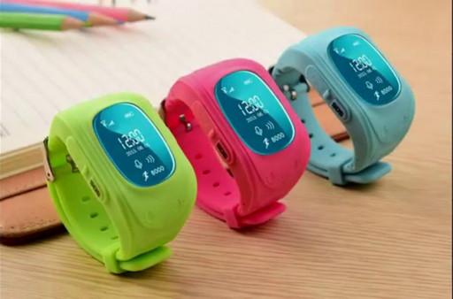 Смарт-часы, умные детские часы Smart Baby Watch Excelvan Q50 с функцией GPS трекера и телефона.
