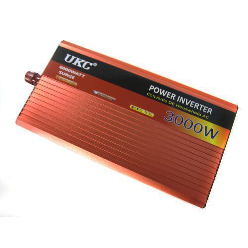 Инвертор преобразователь авто UKC 12V-220V AR 3000W