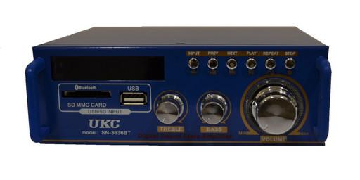 Усилитель звука Bluetooth радио UKC SN-3636BT