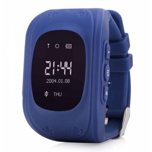 Детские умные часы Smart Watch UKC Q50/G36 GPS трекер Blue