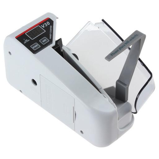 Счетная машинка для денег детектор валют Handy Counter V30 на батарейках и от сети 220