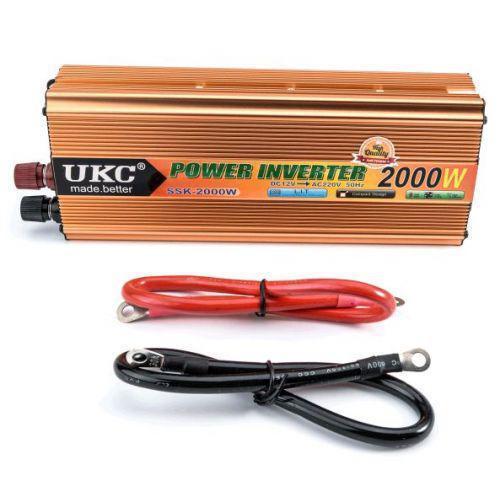Инвертор UKC 24V-220V 2000W