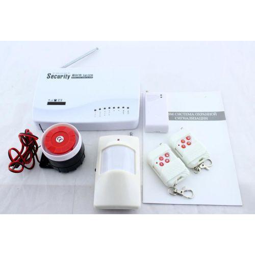 Комплект GSM сигнализация для дома с датчиком движения MHZ Alarm JYX-G200