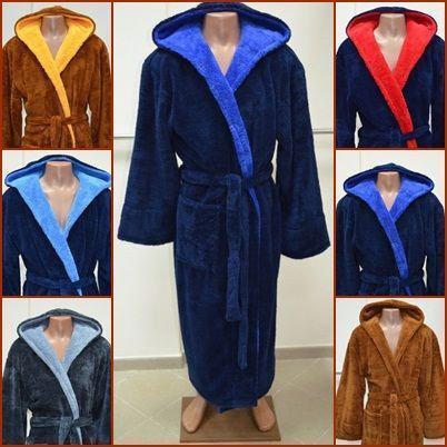Махровый халат мужской,махра вельсофт Турция
